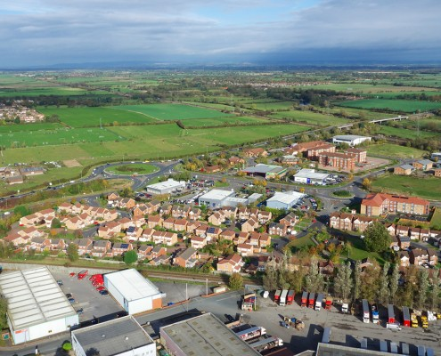 Poppleton Park. Mixed Land use Business and housing Care home in industrial park?