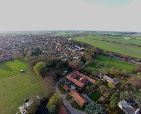 Nether Poppleton, Tithe Barn St Everilda's, Meg Jackson's Fields, Conservation Area, Manor House.
